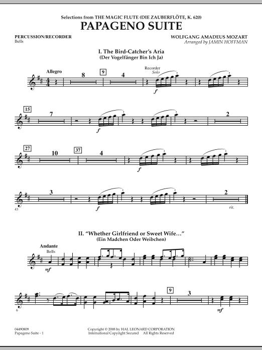 Papageno Suite - Percussion (Orchestra)