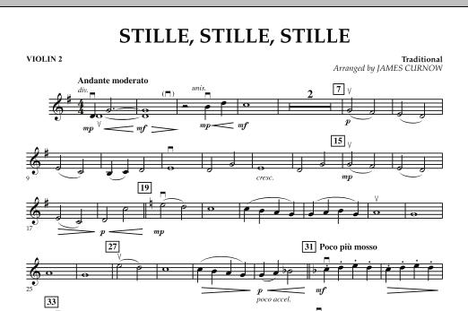Stille, Stille, Stille - Violin 2 (Orchestra)