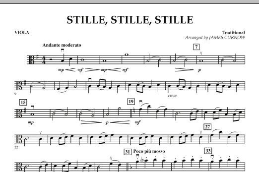 Stille, Stille, Stille - Viola (Orchestra)