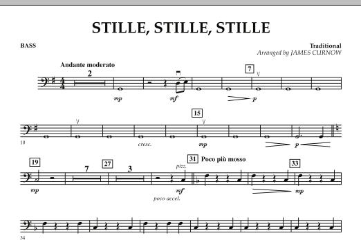 Stille, Stille, Stille - Bass (Orchestra)