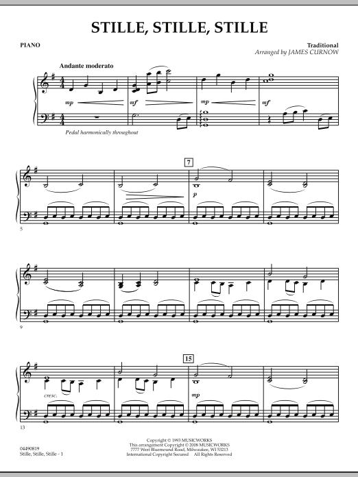 Stille, Stille, Stille - Piano (Orchestra)
