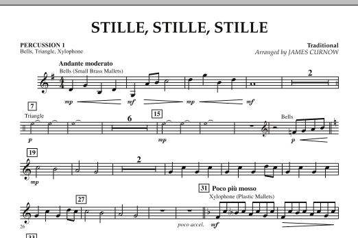 Stille, Stille, Stille - Percussion 1 (Orchestra)