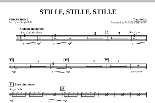 Stille, Stille, Stille - Percussion 2 (Orchestra)