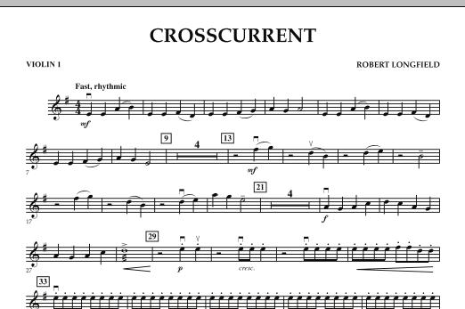 Crosscurrent - Violin 1 (Orchestra)