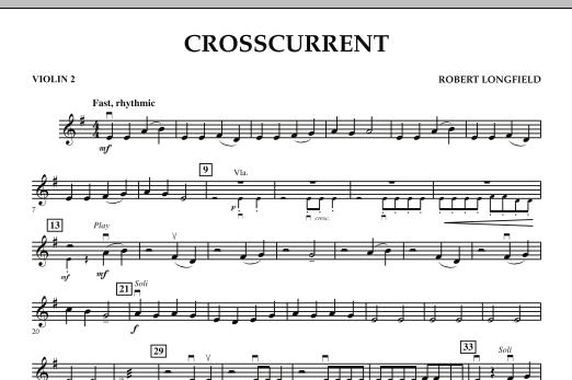 Crosscurrent - Violin 2 (Orchestra)