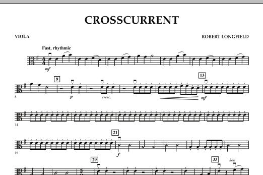 Crosscurrent - Viola (Orchestra)