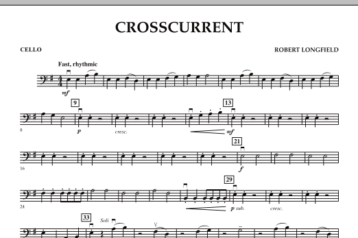 Crosscurrent - Cello (Orchestra)