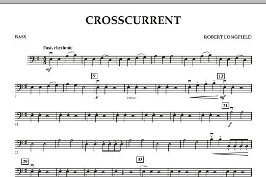 Crosscurrent - Bass (Orchestra)