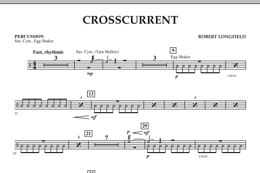 Crosscurrent - Percussion (Orchestra)