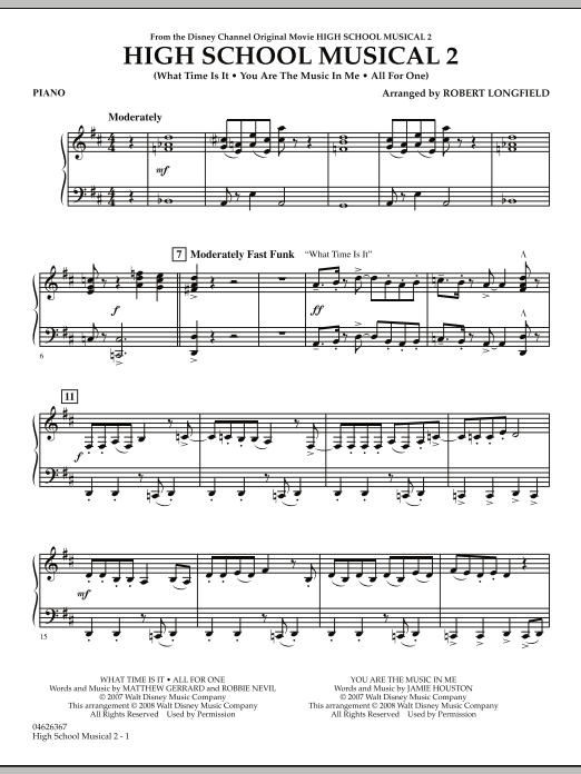 High School Musical 2 - Piano (Orchestra)