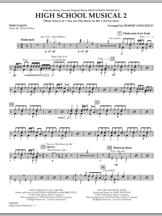 High School Musical 2 - Percussion (Orchestra)