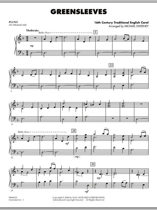Greensleeves - Piano (Orchestra)