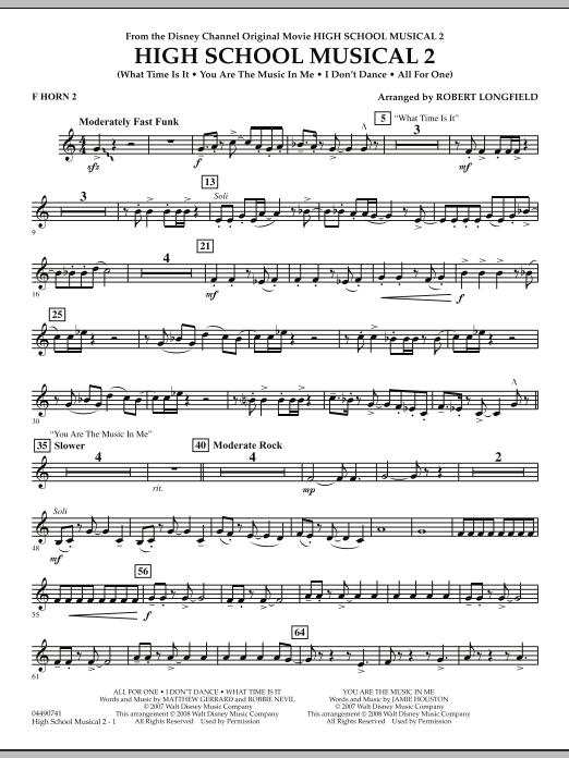 High School Musical 2 - F Horn 2 (Full Orchestra)
