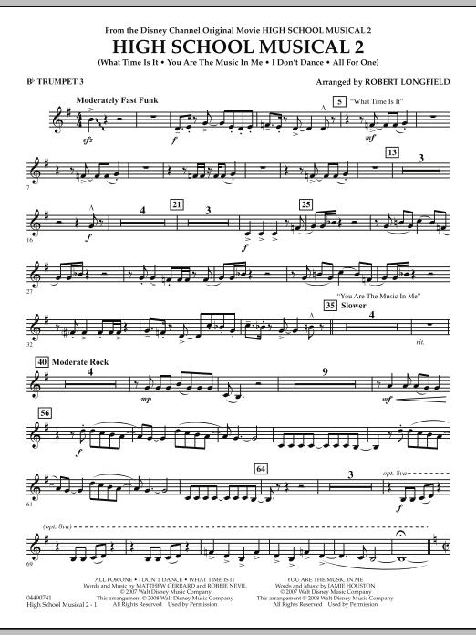 High School Musical 2 - Bb Trumpet 3 (Full Orchestra)
