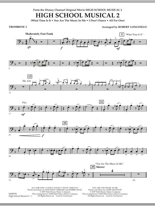 High School Musical 2 - Trombone 2 (Full Orchestra)