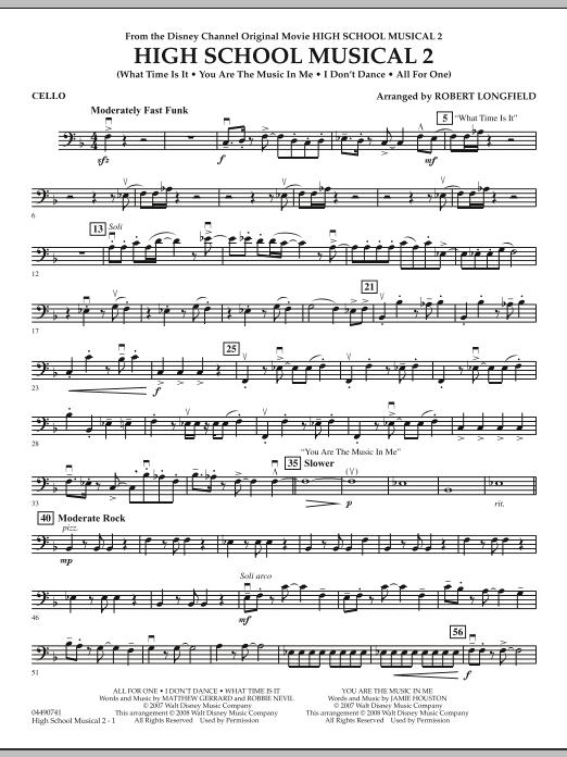 High School Musical 2 - Cello (Full Orchestra)