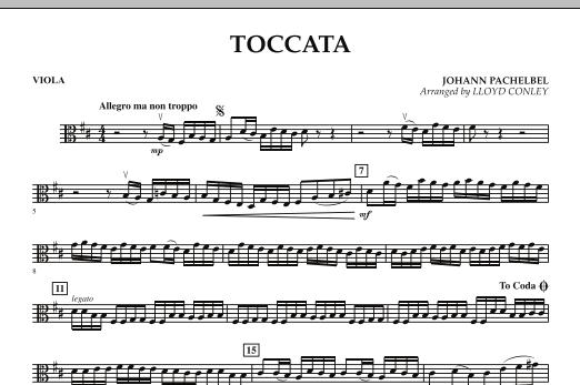 Toccata - Viola (Orchestra)