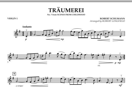 Traumerei - Violin 1 (Orchestra)