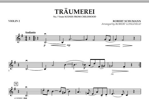 Traumerei - Violin 2 (Orchestra)