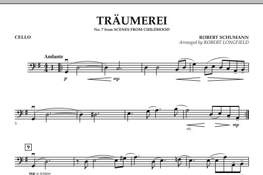 Traumerei - Cello (Orchestra)