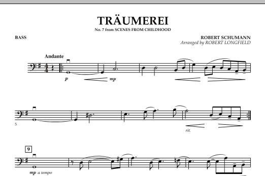 Traumerei - Bass (Orchestra)