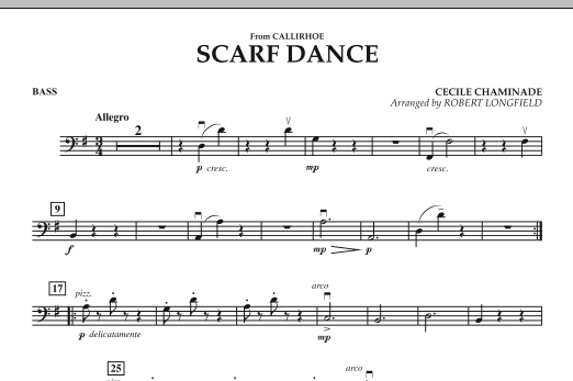 """Scarf Dance (from """"Callirhoe"""") - Bass (Orchestra)"""