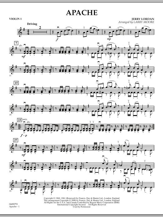 Apache - Violin 1 (Orchestra)