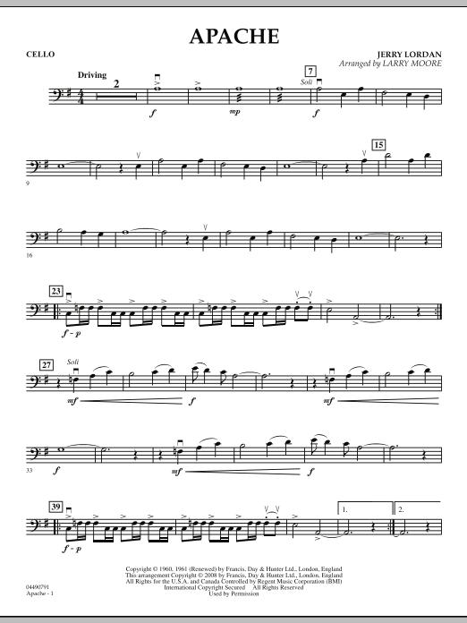Apache - Cello (Orchestra)