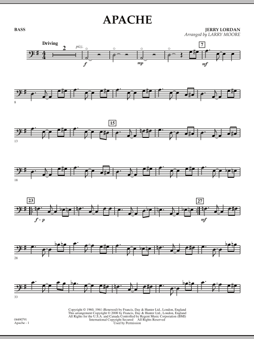 Apache - String Bass (Orchestra)