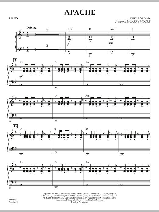 Apache - Piano (Orchestra)
