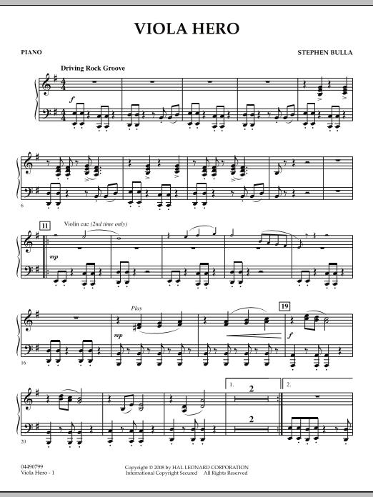 Viola Hero - Piano (Orchestra)