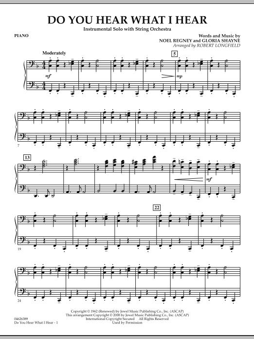 Do You Hear What I Hear - Piano (Orchestra)