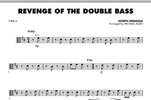 Revenge of the Double Bass - Viola (Orchestra)