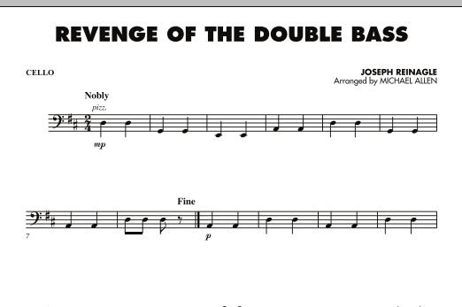 Revenge of the Double Bass - Cello (Orchestra)