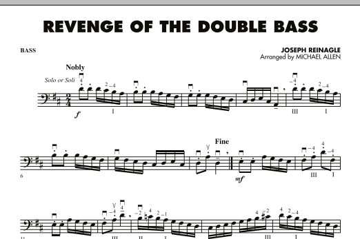 Revenge of the Double Bass - String Bass (Orchestra)