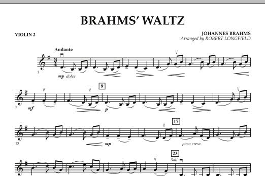 Brahms' Waltz - Violin 2 (Orchestra)