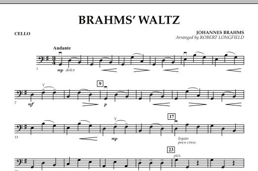 Brahms' Waltz - Cello (Orchestra)