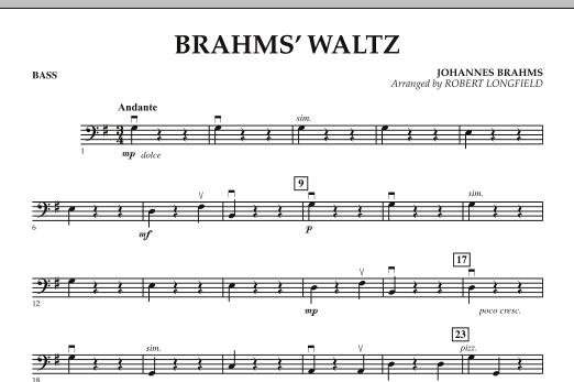 Brahms' Waltz - Bass (Orchestra)