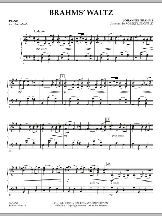 Brahms' Waltz - Piano (Orchestra)