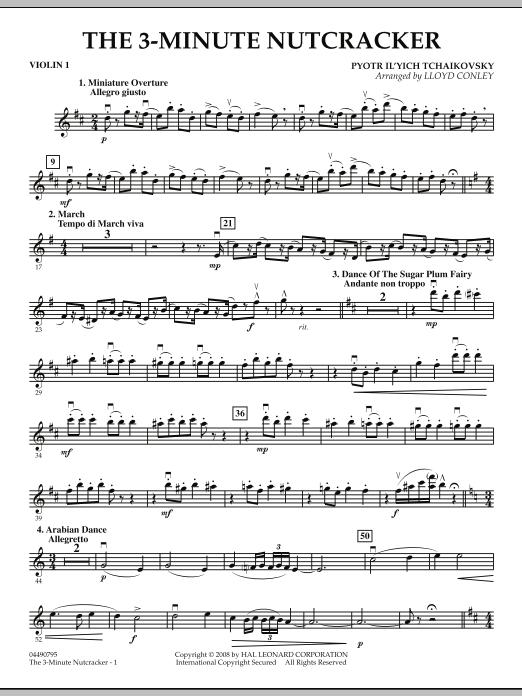 The 3-Minute Nutcracker - Violin 1 (Orchestra)