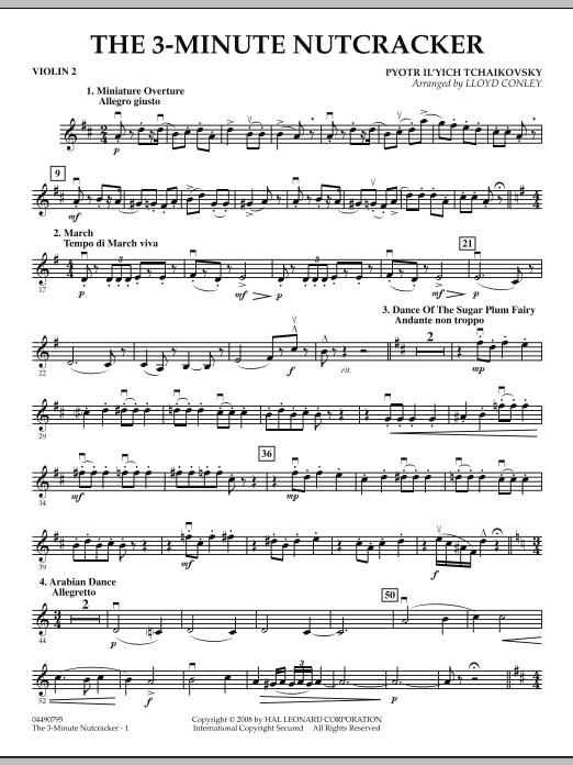The 3-Minute Nutcracker - Violin 2 (Orchestra)