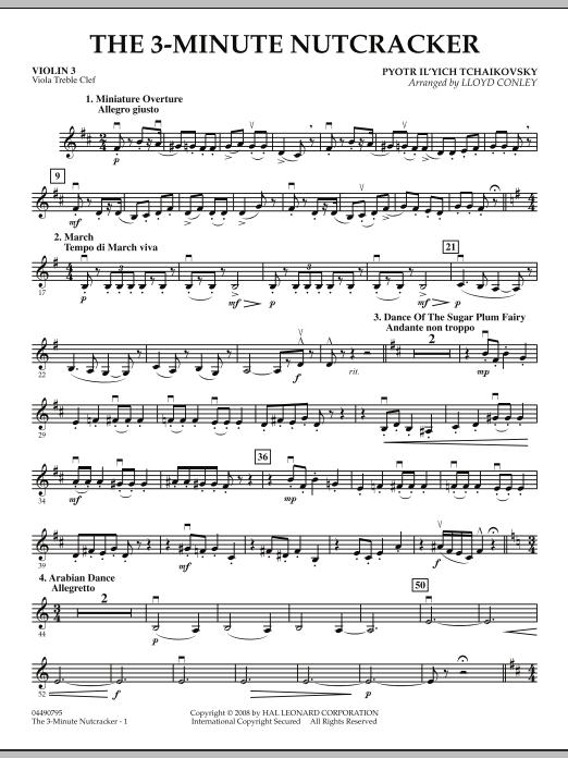 The 3-Minute Nutcracker - Violin 3 (Viola Treble Clef) (Orchestra)