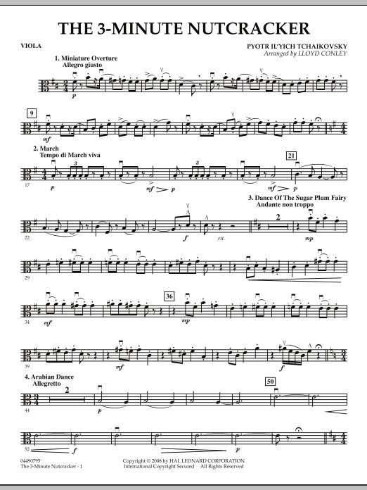 The 3-Minute Nutcracker - Viola (Orchestra)