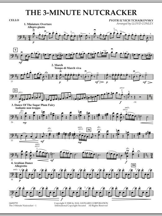 The 3-Minute Nutcracker - Cello (Orchestra)