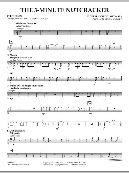 The 3-Minute Nutcracker - Percussion (Orchestra)