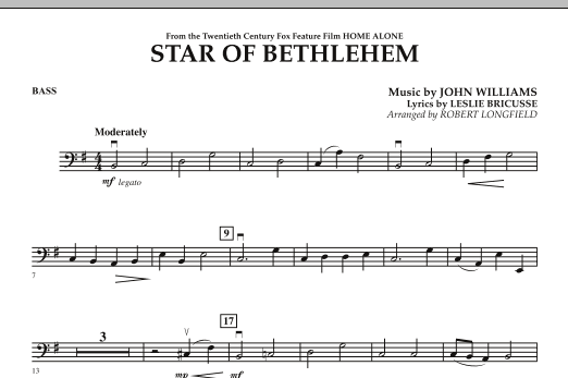 """Star of Bethlehem (from """"Home Alone"""") - Bass (Orchestra)"""