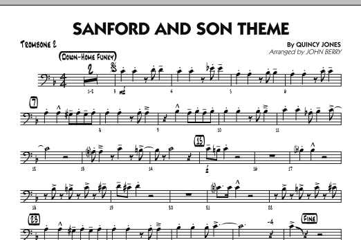 Sanford and Son Theme - Trombone 2 (Jazz Ensemble)