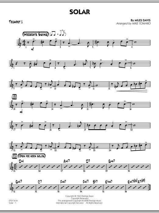 Solar - Trumpet 1 (Jazz Ensemble)
