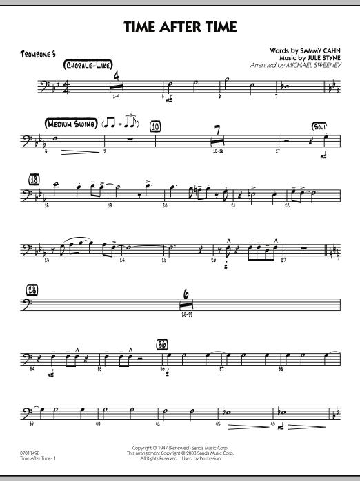 Time After Time - Trombone 3 (Jazz Ensemble)