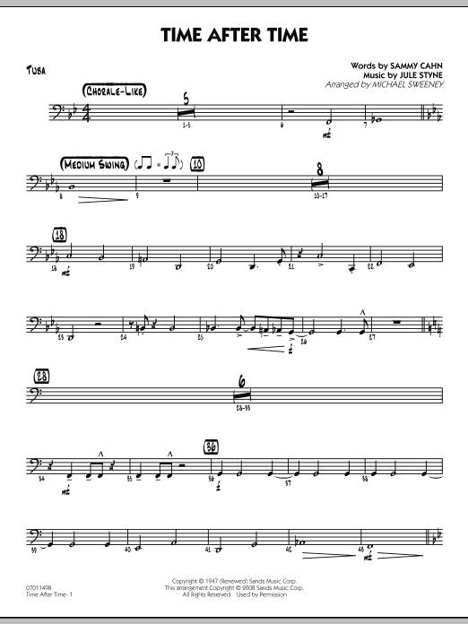 Time After Time - Tuba (Jazz Ensemble)
